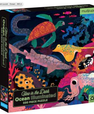 Glow in the dark - Ocean - puzzel 500 stuks - Mudpuppy