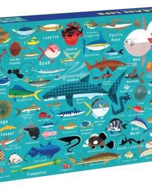 Ocean live - puzzel 1000 stuks - Mudpuppy 354907