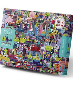 Buildings of the World - puzzel 1000 stuks - Crocodile Creek 3829001