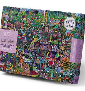 Amusement Parks of the World - puzzel 1000 stuks - Crocodile Creek 3829002