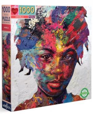 Angela - puzzel 1000 stuks - eeBoo 1042
