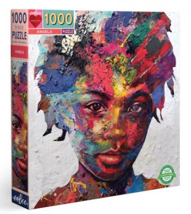 Angela – puzzel 1000 stuks – eeBoo 1042