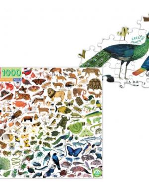 A Rainbow world - puzzel 1000 stuks - eeBoo 9971