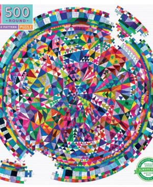 Triangle pattern - puzzel 500 stuks - eeBoo 786