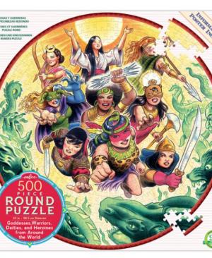 Goddesses and Warriors - puzzel 500 stuks - eeBoo 8417