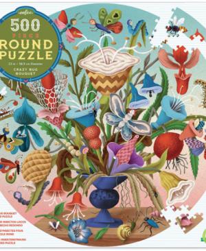 Crazy bug bouquet - puzzel 500 stuks - eeBoo 7670