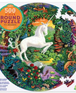 Unicorn garden - puzzel 500 stuks - eeBoo 7250