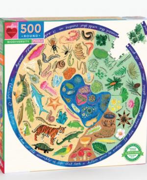 Biodiversity - puzzel 500 stuks - eeBoo 7274