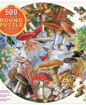 Mushrooms and butterflies - puzzel 500 stuks - eeBoo 8219