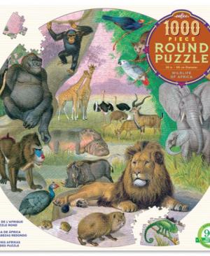 Wildlife of africa - puzzel 1000 stuks - eeBoo 7694