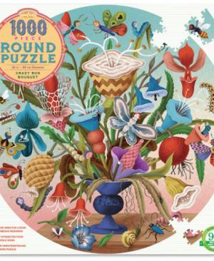 Crazy bug bouquet - puzzel 1000 stuks - eeBoo 7670
