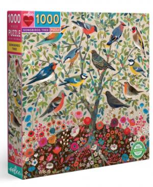 Songbirds tree - puzzel 1000 stuks - eeBoo 141