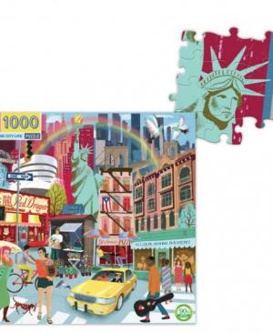 New York City life - puzzel 1000 stuks - eeBoo 175