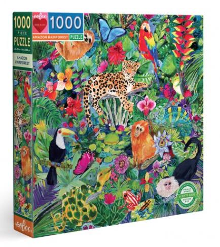 Amazon Rainforest – puzzel 1000 stuks – eeBoo 502