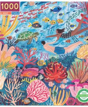 Coral reef - puzzel 1000 stuks - eeBoo 410
