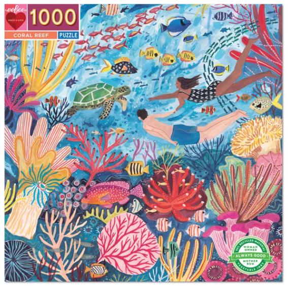 Coral reef – puzzel 1000 stuks – eeBoo 410