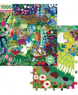 Bountiful Garden - puzzel 1000 stuks - eeBoo 7526