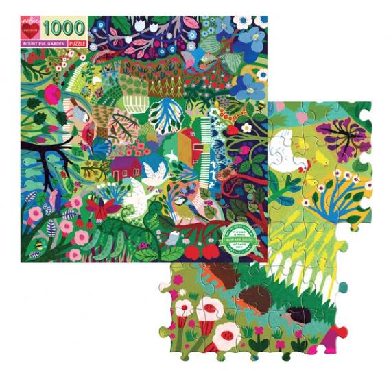Bountiful Garden – puzzel 1000 stuks – eeBoo 7526
