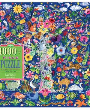 Tree of life - puzzel 1000 stuks - eeBoo 8257