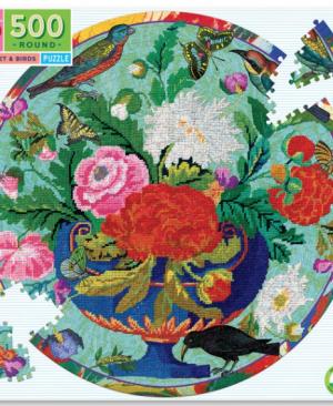 Bouquet & Birds - puzzel 500 stuks - eeBoo 9230