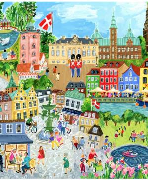 Copenhagen - puzzel 1000 stuks - eeBoo 878