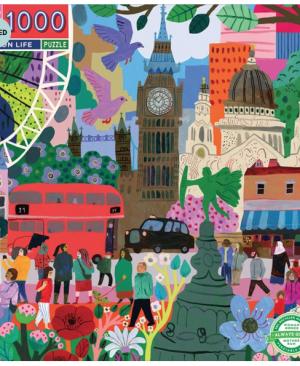 Londen life - puzzel 1000 stuks - eeBoo 10762