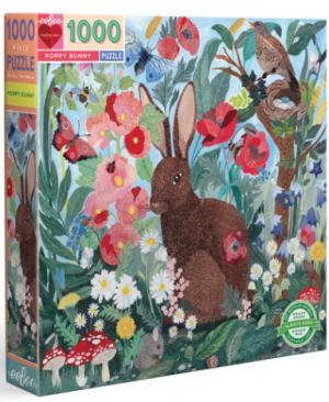 Poopy bunny - puzzel 1000 stuks - eeBoo 1035