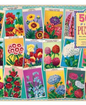 Planting a garden - puzzel 1000 stuks - eeBoo 6888