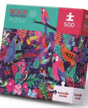 Birds of paradise - puzzel 500 stuks - Crocodile Creek 3828860
