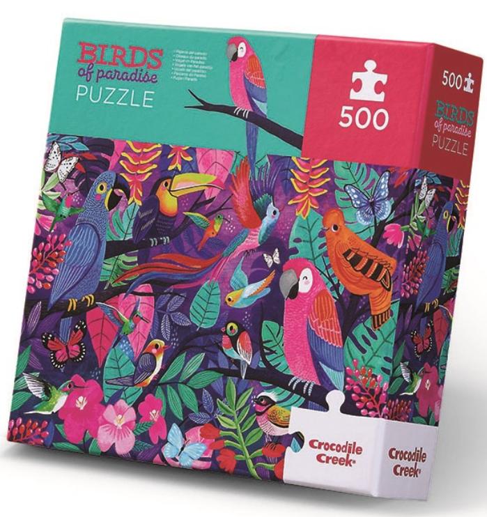 Birds of paradise – puzzel 500 stuks – Crocodile Creek 3828860