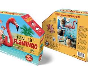 I am Lil' Flamingo - puzzel 100 stuks - DAM 9