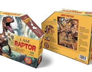 I am Raptor - puzzel 100 stuks - DAM 16