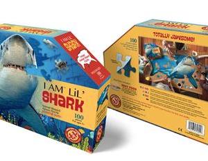 I am lil' Shark - puzzel 100 stuks - DAM 13