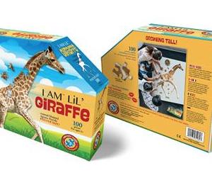 I am lil' Giraffe - puzzels 100 stuks - DAM 2