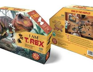 I am T.Rex - puzzel 100 stuks - DAM 14