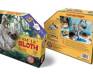 I am lil' Sloth - puzzel 100 stuks - DAM 1