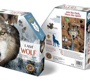 I am Wolf - puzzel 300 stuks - DAM 1