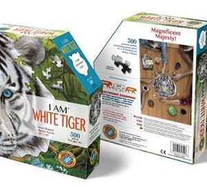 I am White Tiger - puzzel 300 stuks - DAM 4
