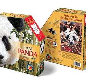 I am Panda - puzzel 550 stuks - DAM 9