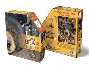 I am Bear – puzzel 550 stuks – DAM 4