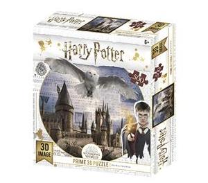 Harry Potter/ Hogwarts en Hedwig - puzzel 500 stuks - DAM 513