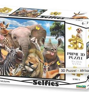 Selfie Africa - puzzel 63 stuks - DAM 543