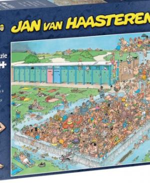 Bomvol bad - puzzel 1000 stuks - Jan van Haasteren 20039