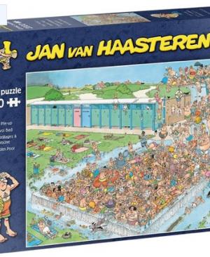 Bomvol bad - puzzel 2000 stuks - Jan van Haasteren 20040