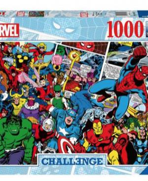 Challenge marvel - puzzel 1000 stuks - Ravensburger 629