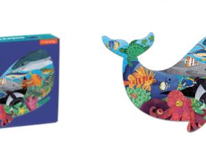 Ocean Life - Shaped puzzel 300 stuks Mudpuppy - 355727