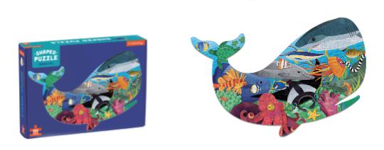 Ocean Life – Shaped puzzel 300 stuks Mudpuppy – 355727
