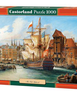 Copy of The Old Gdansk - puzzel 1000 stuks - Castorland