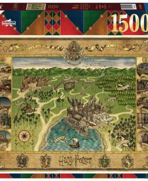 Harry Potter - Hogwarts Map - puzzel 1500 stuks - Ravensburger 165995