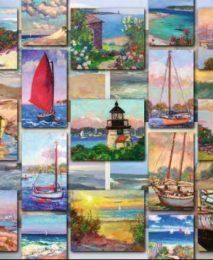 Coastal Collage - puzzel 1500 stuks - Ravensburger 168200